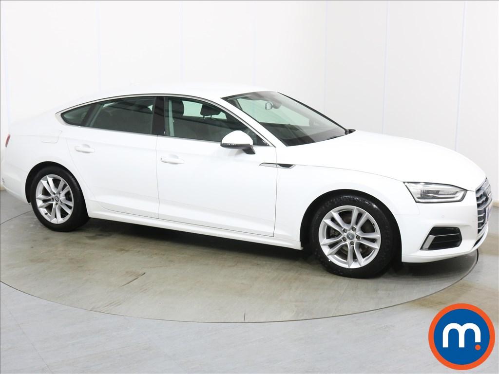 Audi A5 Sport - Stock Number 1129736 Passenger side front corner
