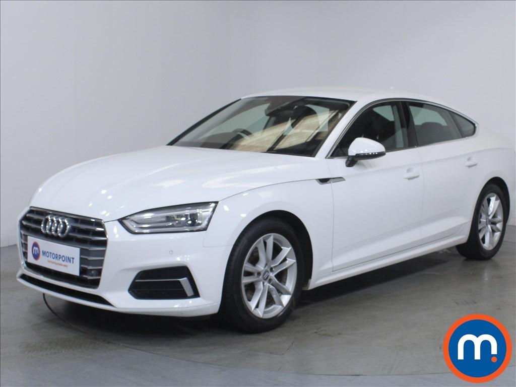 Audi A5 Sport - Stock Number 1131088 Passenger side front corner