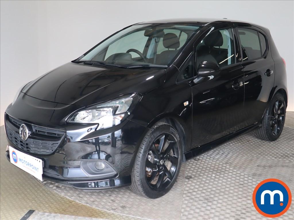 Vauxhall Corsa SRi Vx-line Nav Black - Stock Number 1132230 Passenger side front corner