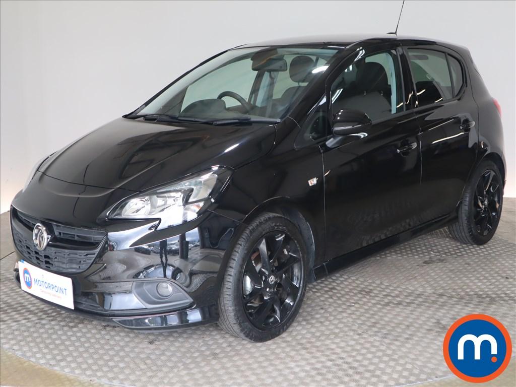 Vauxhall Corsa SRi Vx-line Nav Black - Stock Number 1132537 Passenger side front corner