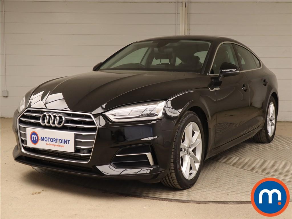 Audi A5 Sport - Stock Number 1129740 Passenger side front corner