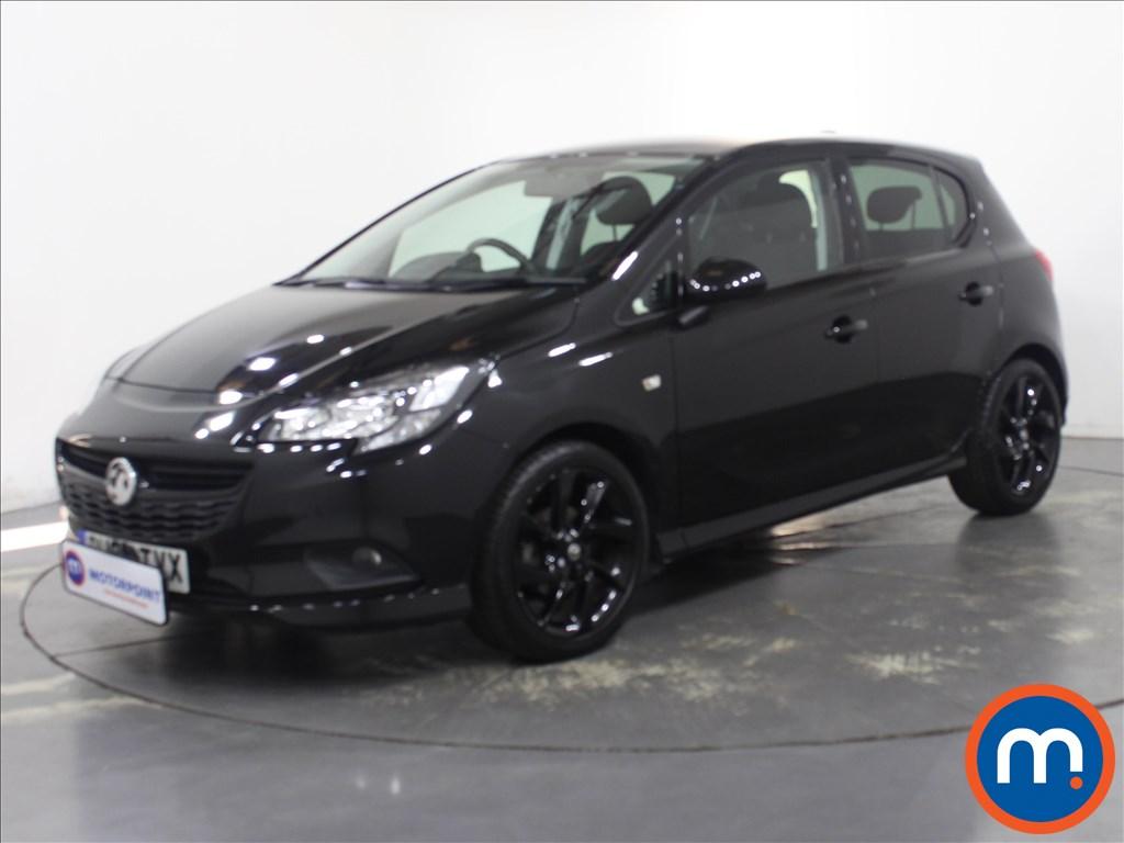 Vauxhall Corsa 1.4 SRi Vx-line Nav Black 5dr - Stock Number 1132243 Passenger side front corner