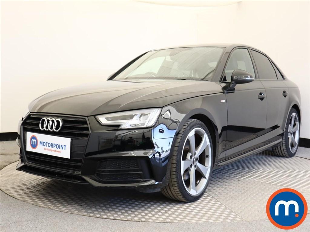 Audi A4 Black Edition - Stock Number 1129725 Passenger side front corner