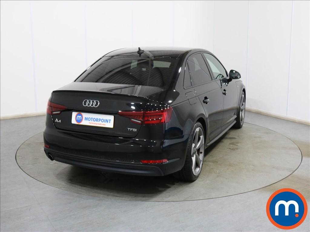 Audi A4 Black Edition - Stock Number 1130617 Passenger side front corner