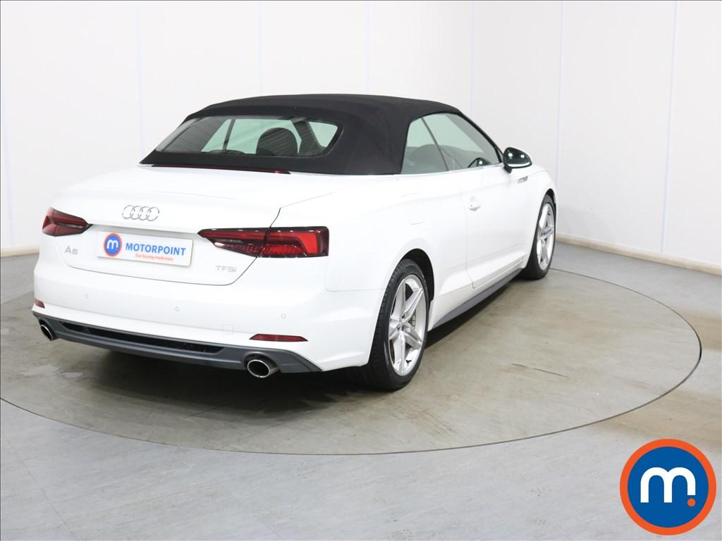 Audi A5 S Line - Stock Number 1130159 Passenger side front corner
