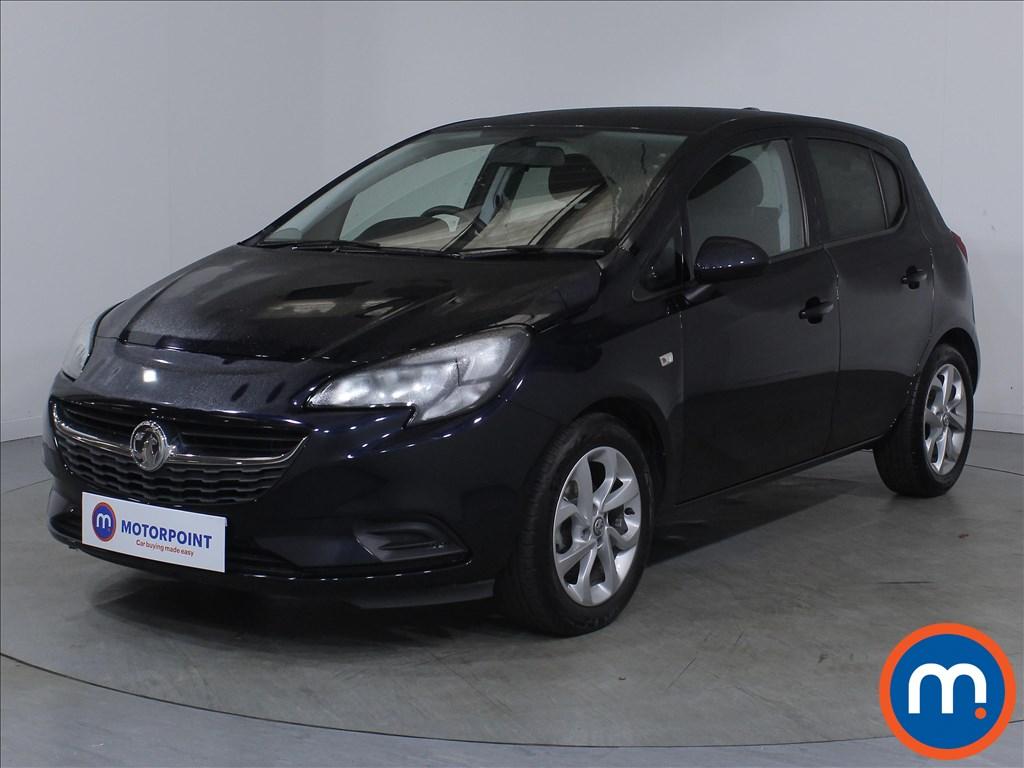 Vauxhall Corsa Sport - Stock Number 1131729 Passenger side front corner