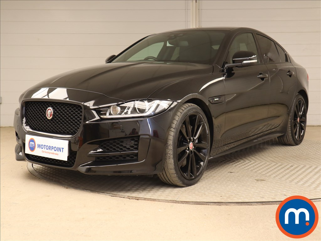 Jaguar XE R-Sport Black Edition - Stock Number 1122443 Passenger side front corner