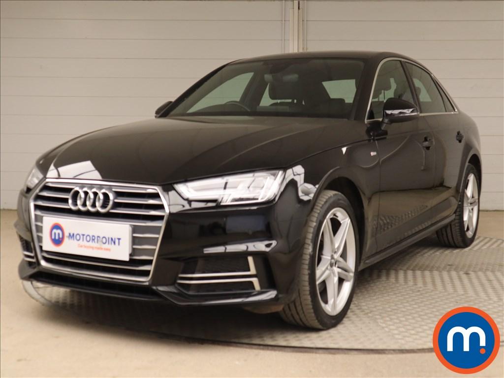 Audi A4 S Line - Stock Number 1128540 Passenger side front corner