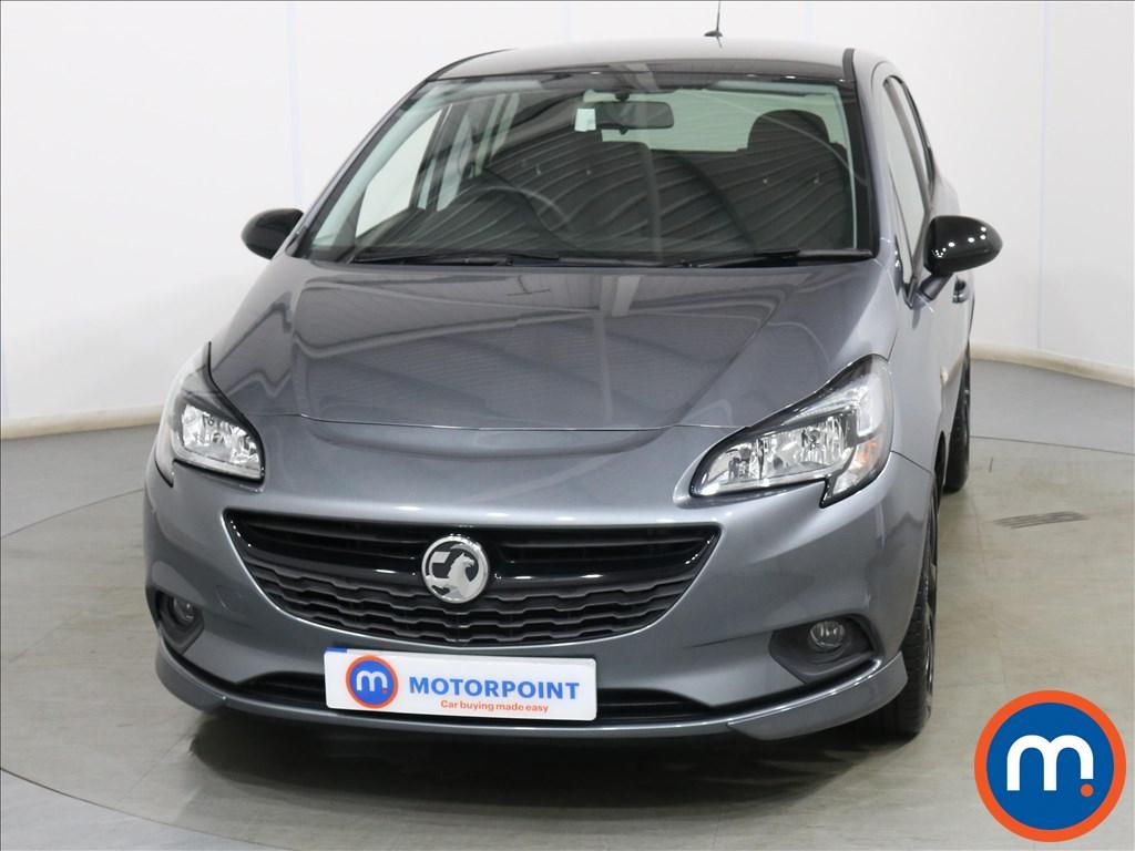 Vauxhall Corsa SRi Vx-line Nav Black - Stock Number 1132280 Passenger side front corner