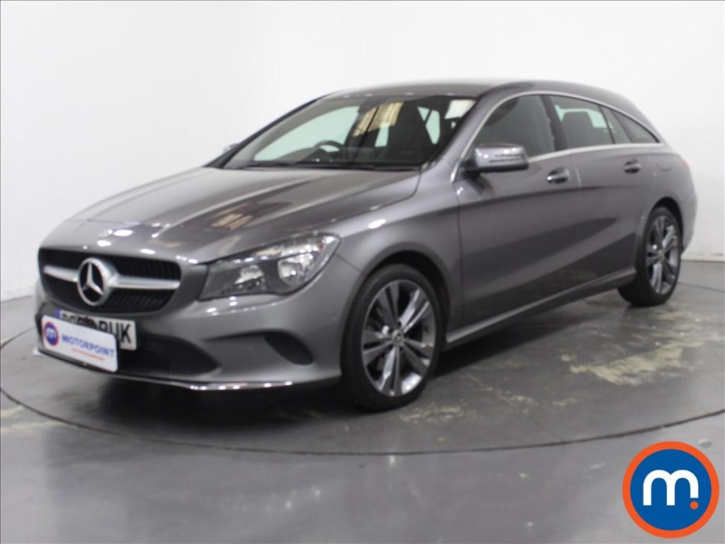 Mercedes-Benz CLA Sport - Stock Number 1128135 Passenger side front corner
