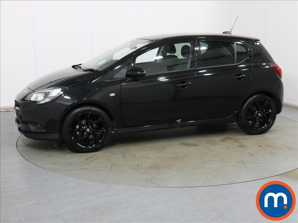 Vauxhall Corsa 1.4 SRi Vx-line Nav Black 5dr - Stock Number 1132258 Passenger side front corner