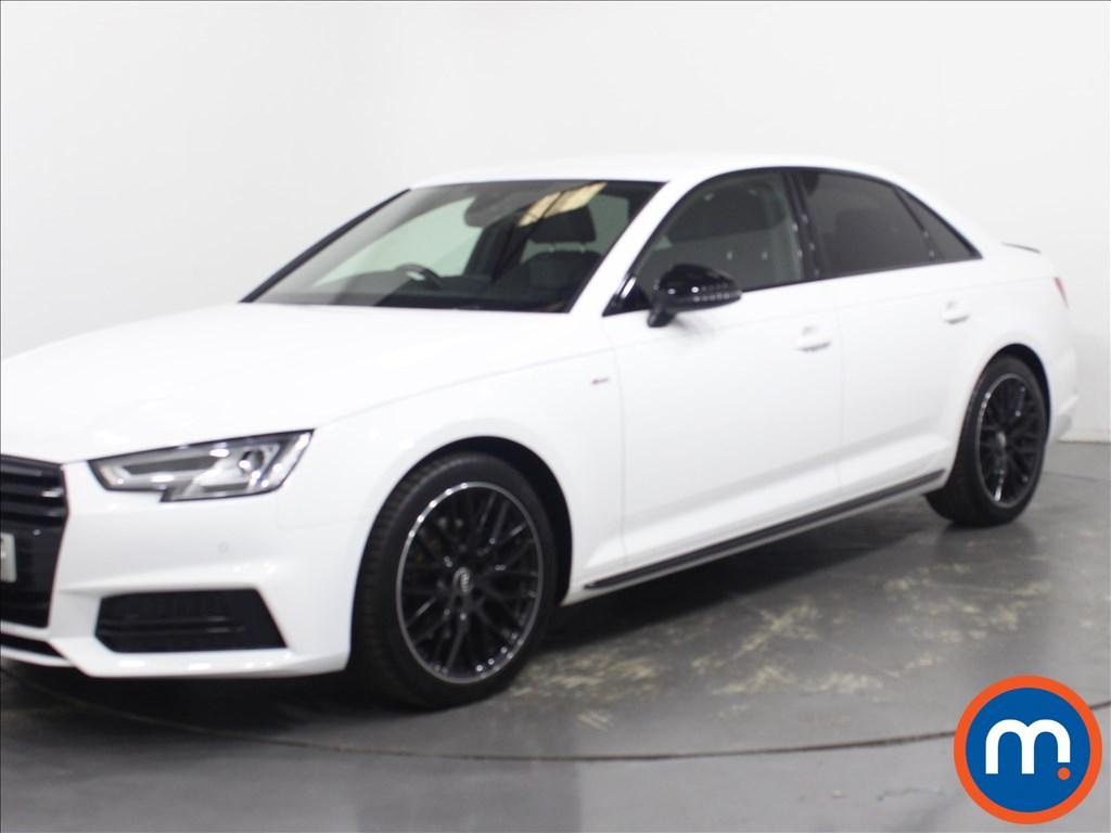 Audi A4 Black Edition - Stock Number 1130622 Passenger side front corner
