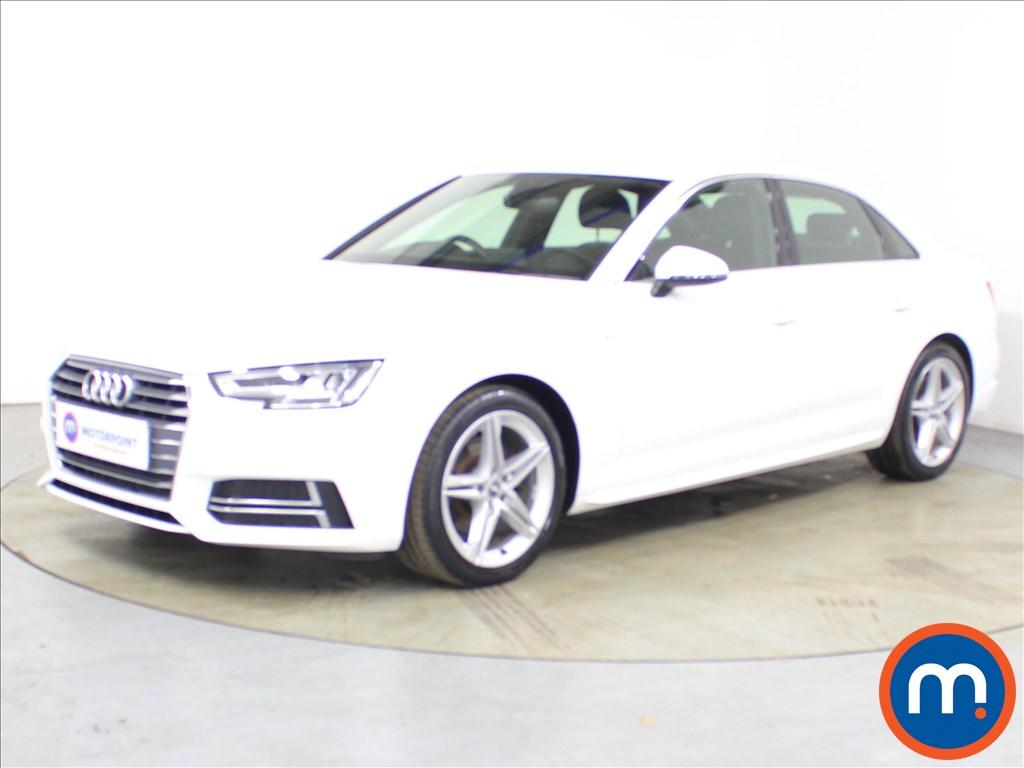 Audi A4 S Line - Stock Number 1129705 Passenger side front corner