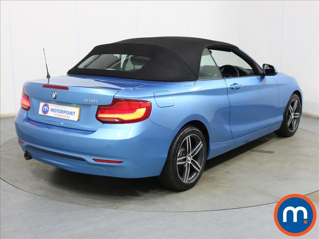 BMW 2 Series Sport - Stock Number 1130178 Passenger side front corner