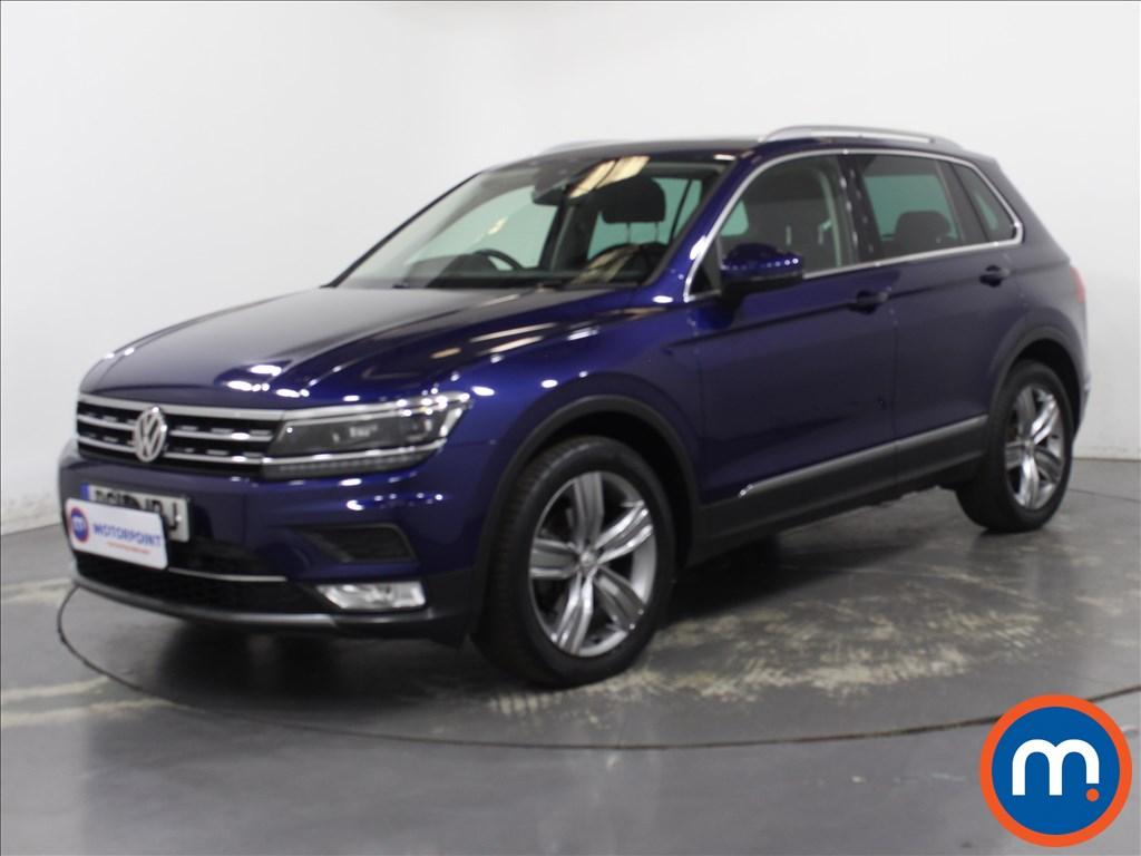 Volkswagen Tiguan SEL - Stock Number 1132878 Passenger side front corner