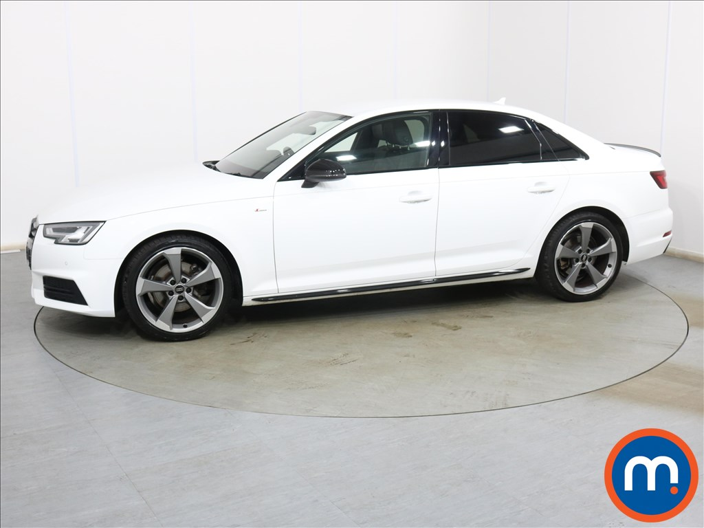 Audi A4 Black Edition - Stock Number 1134020 Passenger side front corner