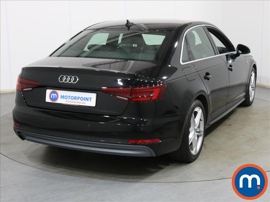 Audi A4 S Line - Stock Number 1134278 Passenger side front corner