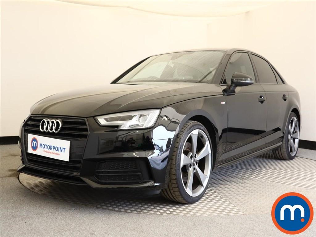 Audi A4 Black Edition - Stock Number 1125509 Passenger side front corner
