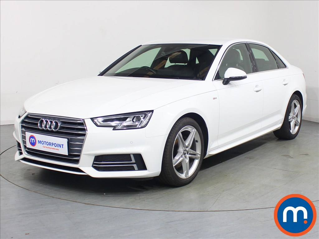 Audi A4 1.4T FSI S Line 4dr [Leather-Alc] - Stock Number 1119319 Passenger side front corner