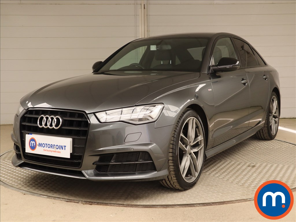 Audi A6 Black Edition - Stock Number 1130627 Passenger side front corner