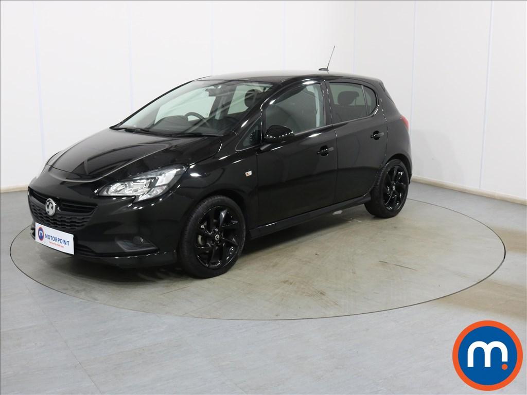 Vauxhall Corsa 1.4 SRi Vx-line Nav Black 5dr - Stock Number 1132234 Passenger side front corner