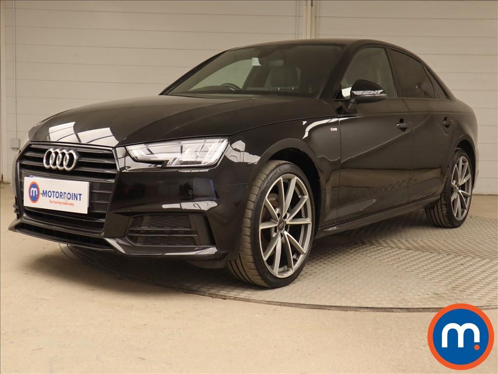 Audi A4 Black Edition - Stock Number 1123758 Passenger side front corner