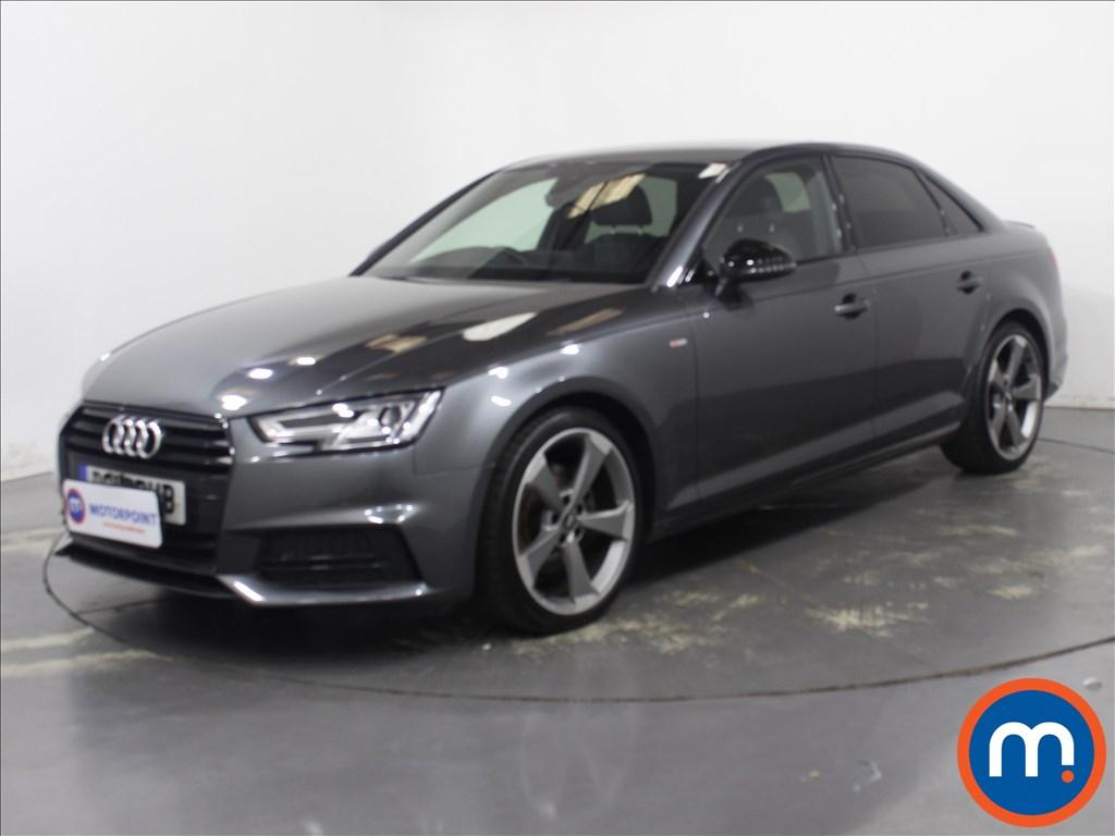 Audi A4 Black Edition - Stock Number 1132532 Passenger side front corner