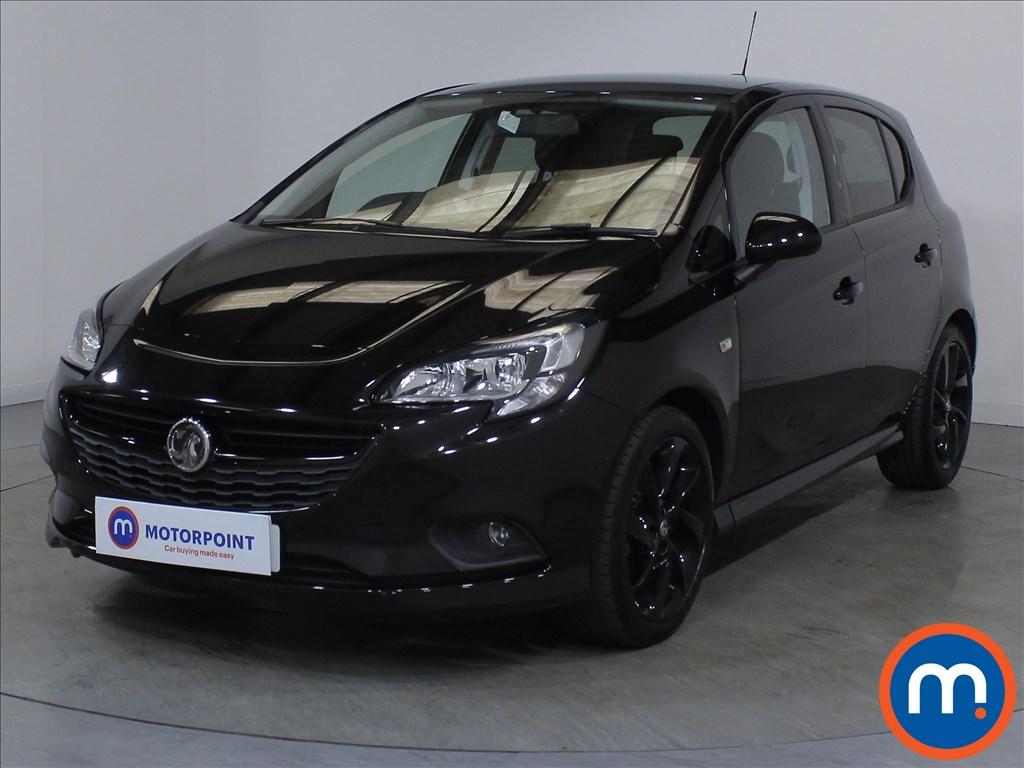 Vauxhall Corsa SRi Vx-line Nav Black - Stock Number 1132257 Passenger side front corner