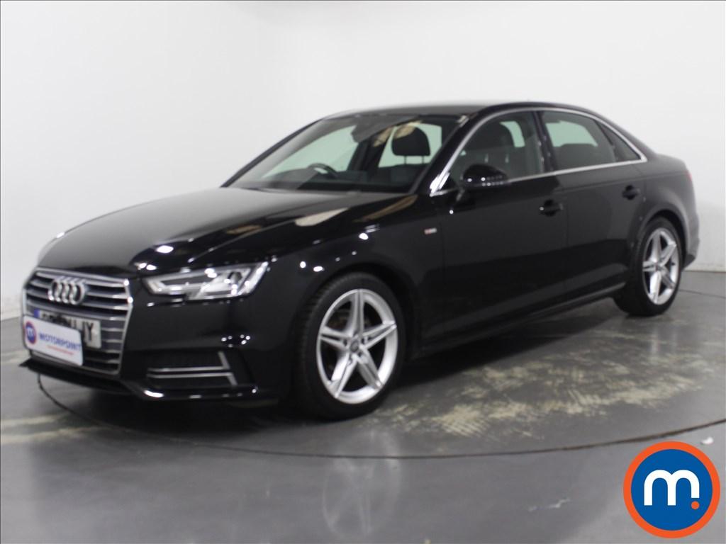 Audi A4 S Line - Stock Number 1133999 Passenger side front corner