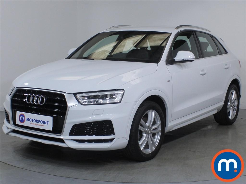 Audi Q3 S Line Edition - Stock Number 1132696 Passenger side front corner