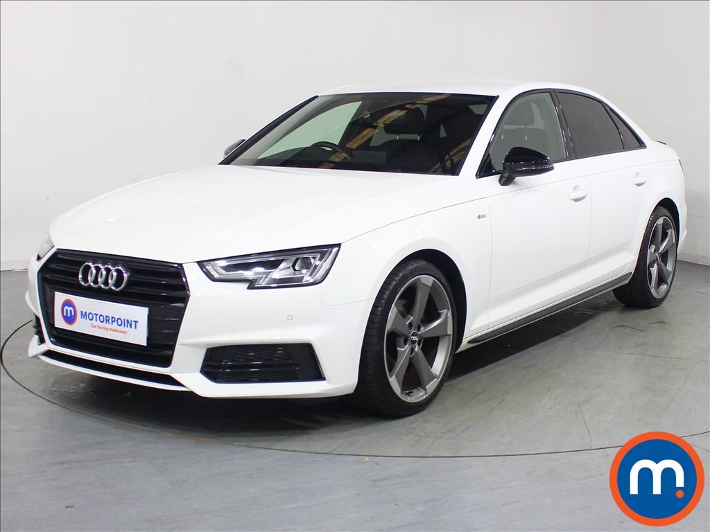 Audi A4 Black Edition - Stock Number 1132535 Passenger side front corner