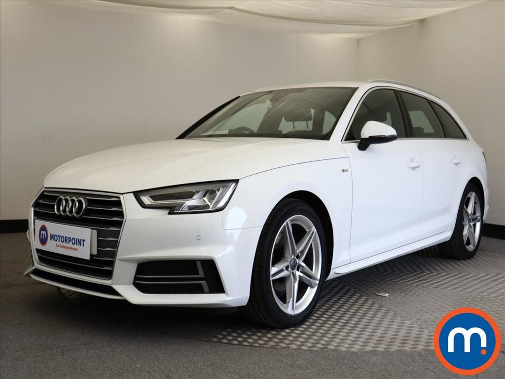 Audi A4 S Line - Stock Number 1129653 Passenger side front corner