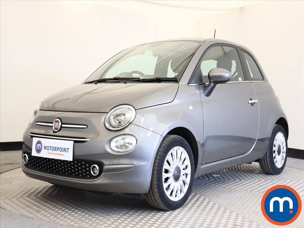 Fiat 500 Lounge - Stock Number 1130251 Passenger side front corner