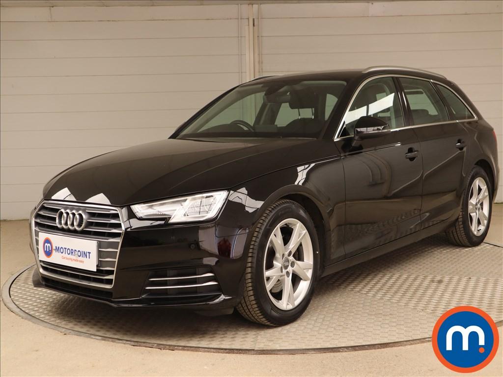 Audi A4 Sport - Stock Number 1130566 Passenger side front corner