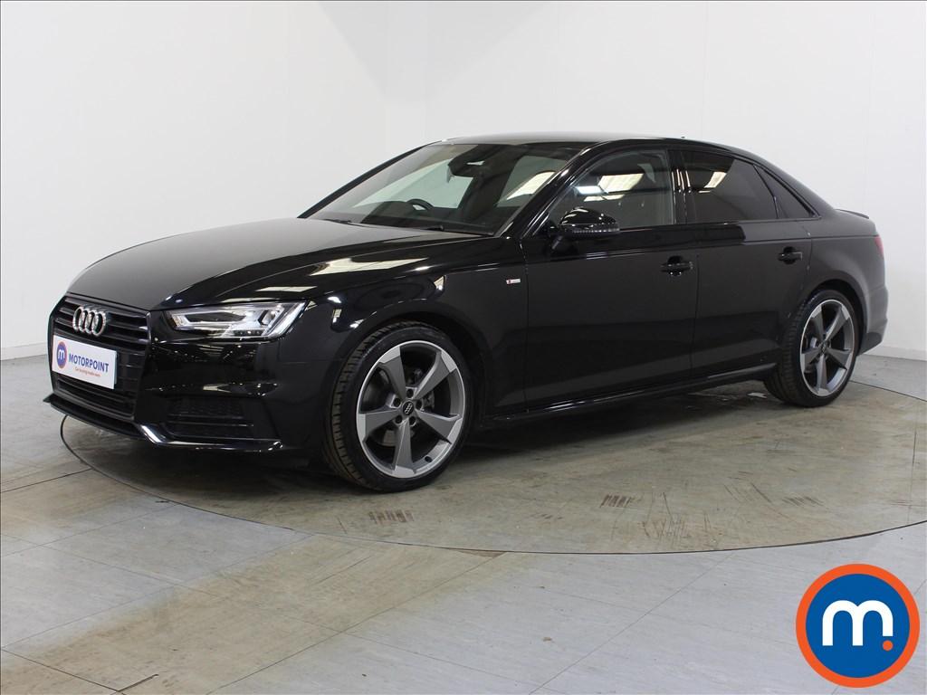 Audi A4 Black Edition - Stock Number 1132921 Passenger side front corner