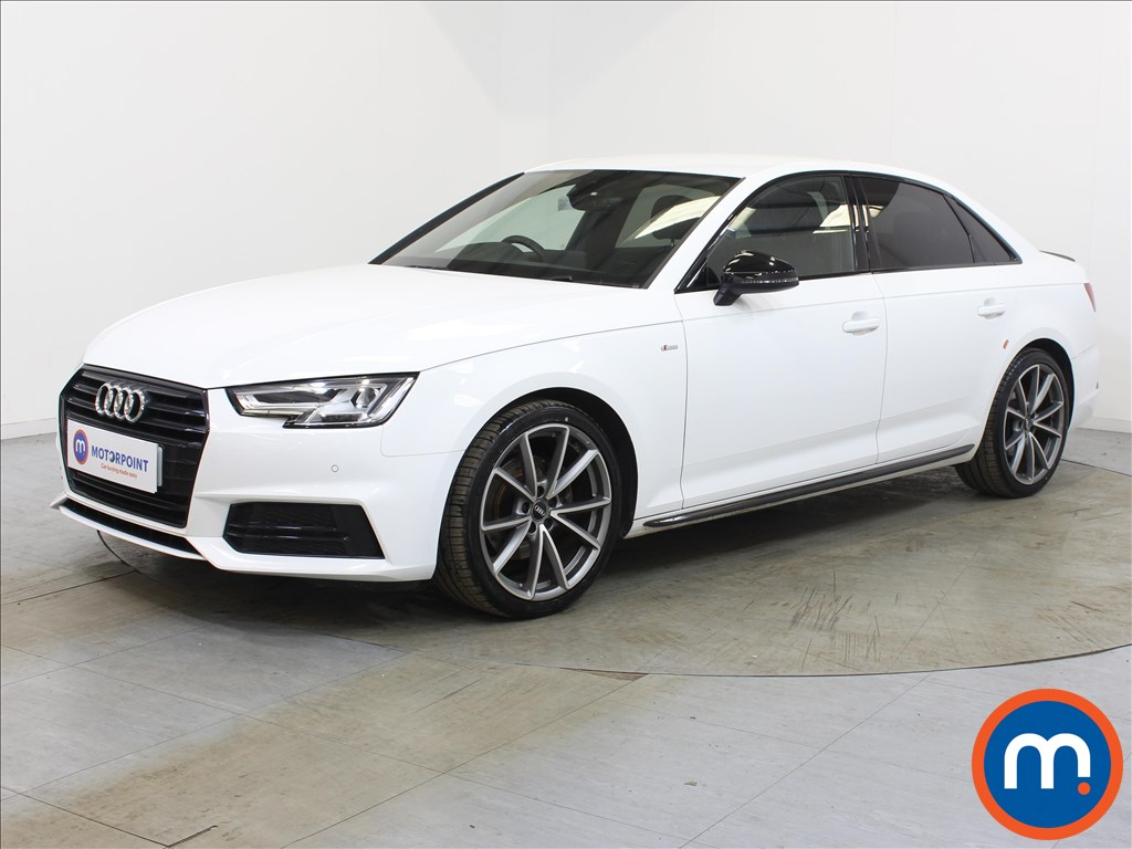 Audi A4 Black Edition - Stock Number 1134012 Passenger side front corner