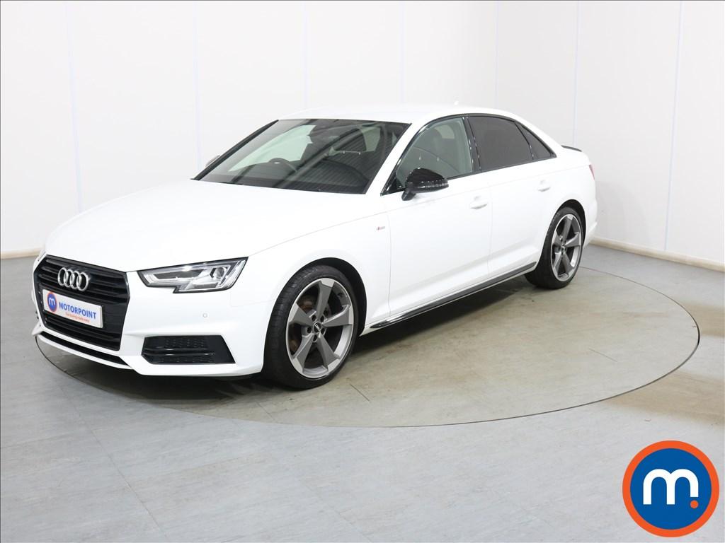 Audi A4 Black Edition - Stock Number 1132542 Passenger side front corner