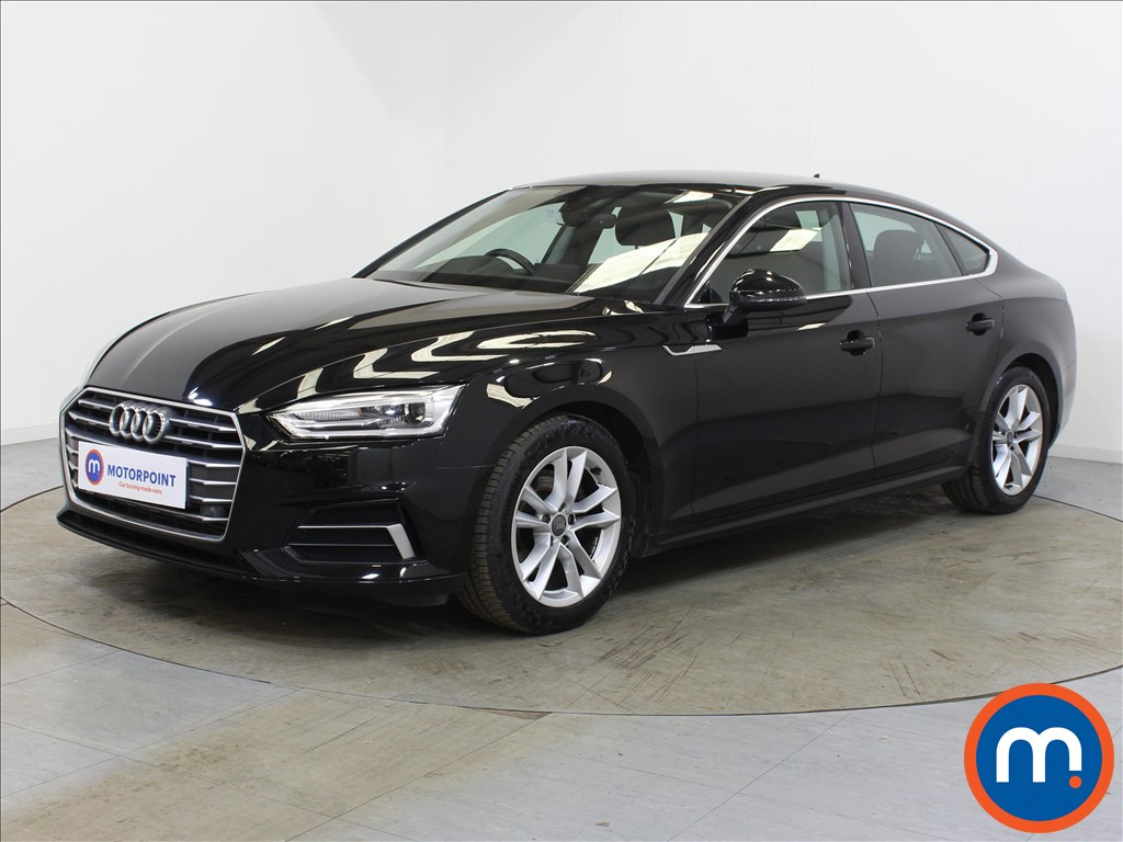 Audi A5 Sport - Stock Number 1132604 Passenger side front corner