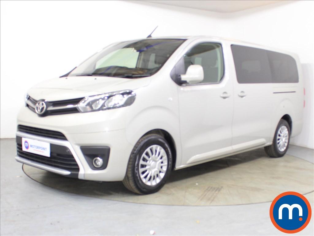 Toyota Proace Verso Shuttle - Stock Number 1115686 Passenger side front corner