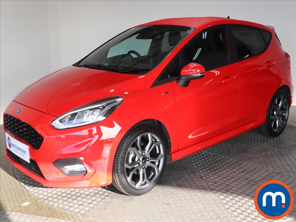 Ford Fiesta ST-Line Edition - Stock Number 1134634 Passenger side front corner