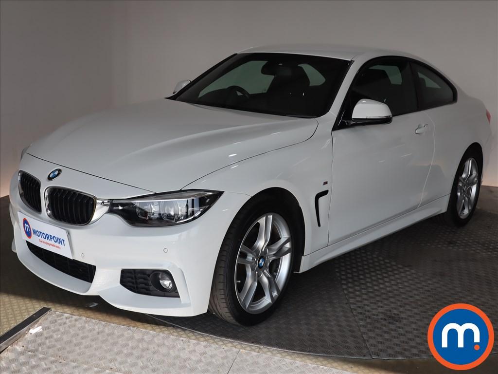 BMW 4 Series 420d [190] M Sport 2dr Auto [Professional Media] - Stock Number 1132777 Passenger side front corner