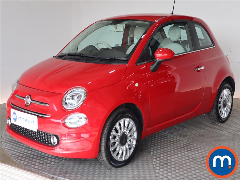 Fiat 500 Lounge - Stock Number 1131321 Passenger side front corner
