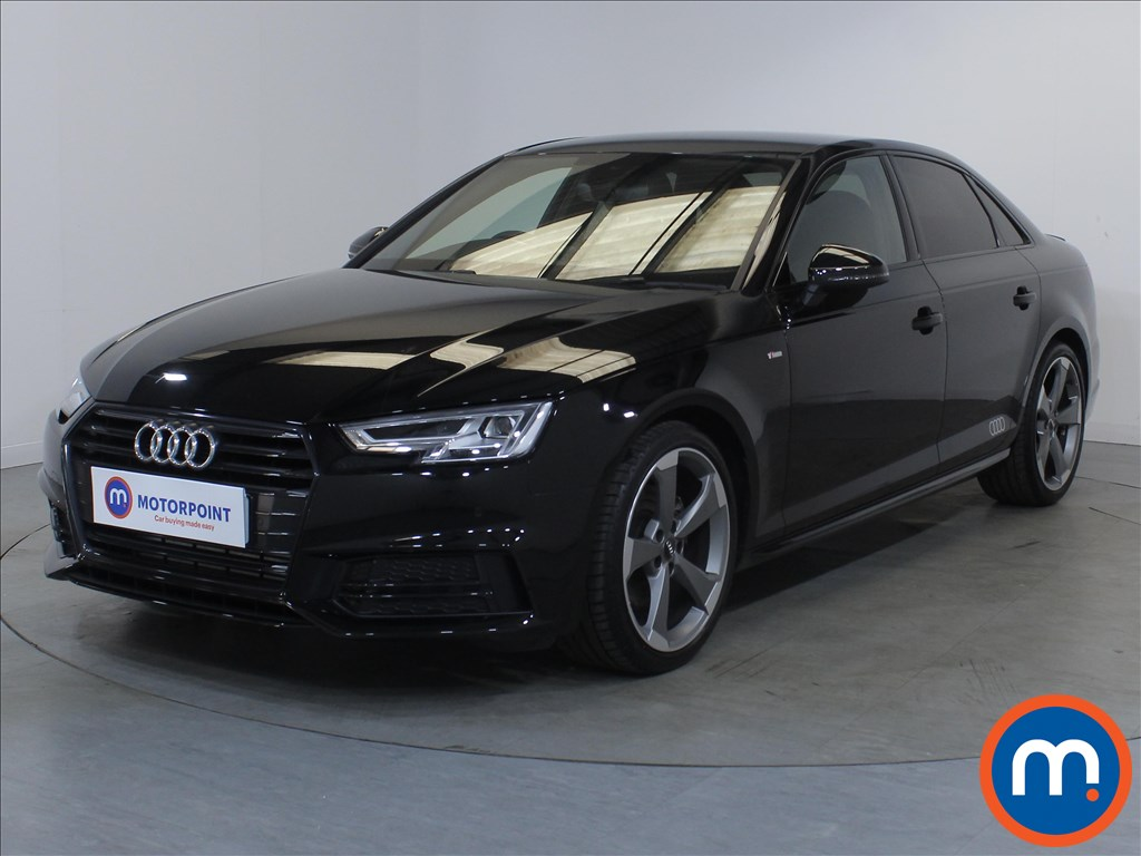 Audi A4 Black Edition - Stock Number 1134008 Passenger side front corner