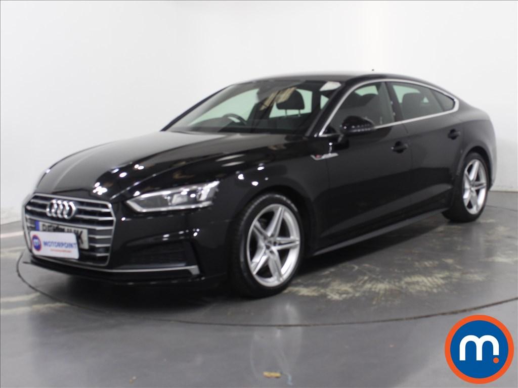 Audi A5 S Line - Stock Number 1132662 Passenger side front corner