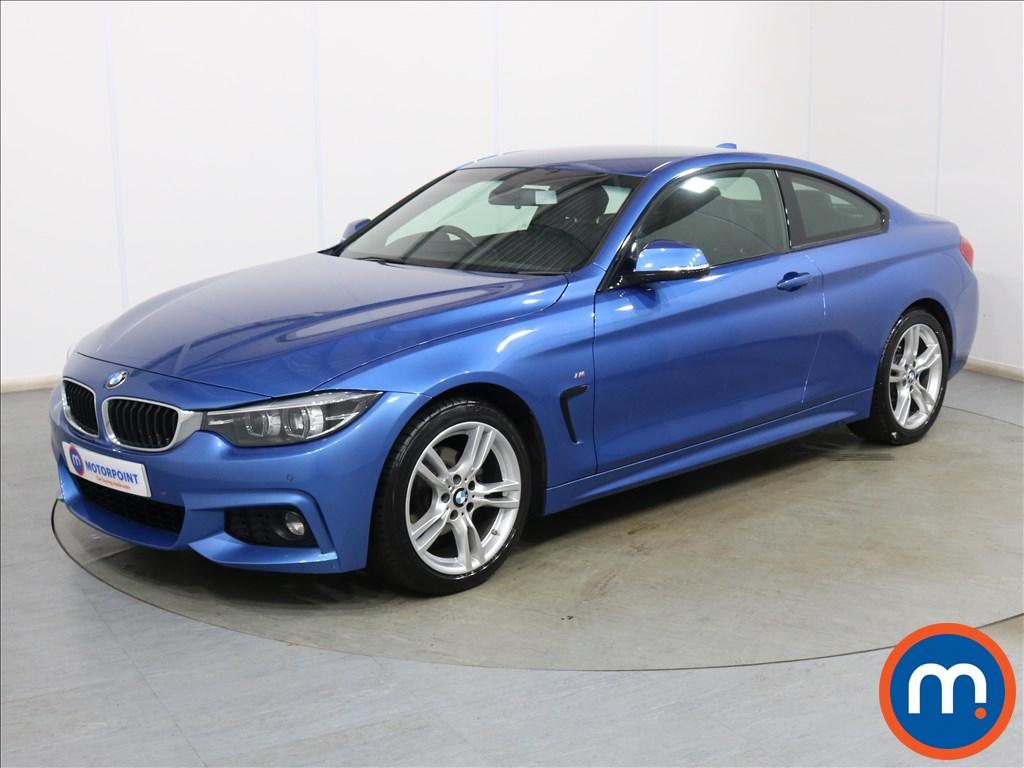 BMW 4 Series M Sport - Stock Number 1133886 Passenger side front corner