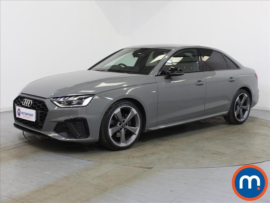 Audi A4 Black Edition - Stock Number 1134070 Passenger side front corner