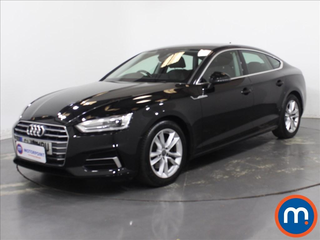Audi A5 Sport - Stock Number 1132646 Passenger side front corner