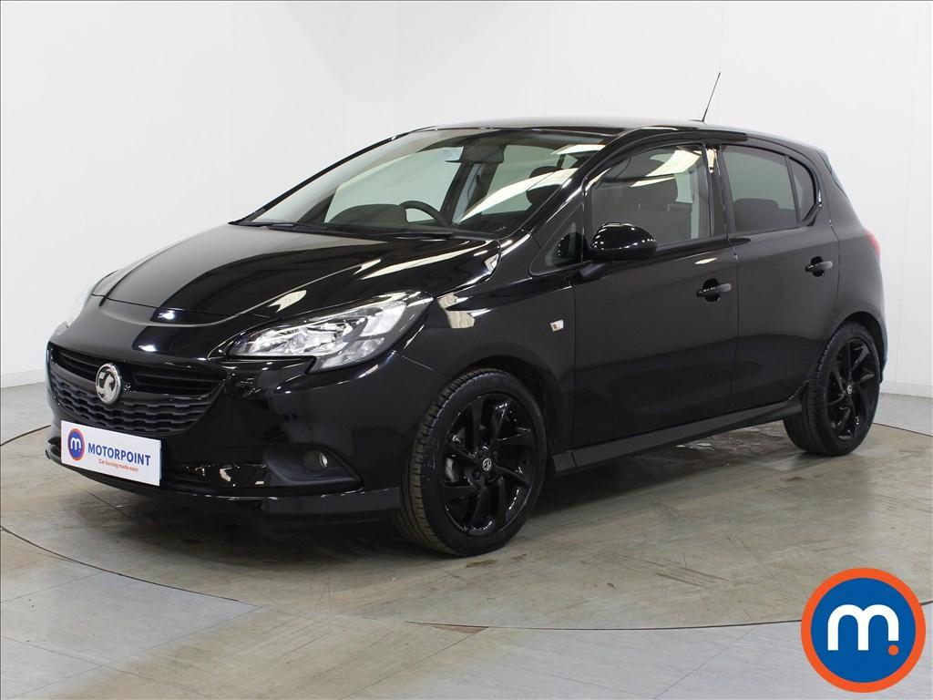 Vauxhall Corsa SRi Vx-line Nav Black - Stock Number 1132303 Passenger side front corner