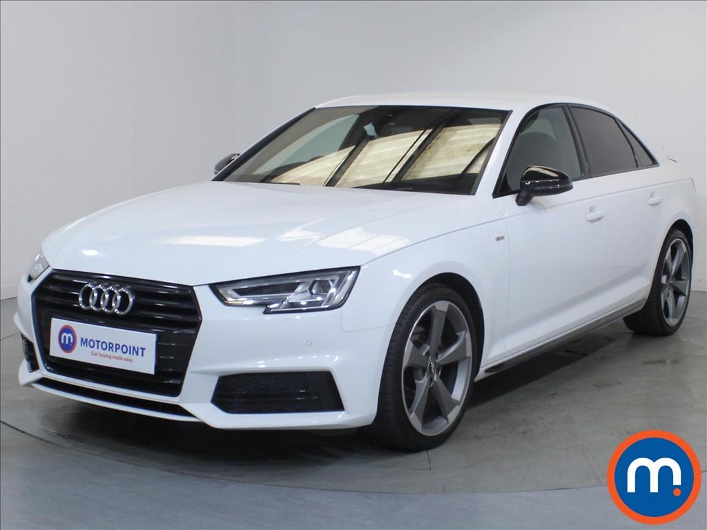 Audi A4 Black Edition - Stock Number 1132916 Passenger side front corner