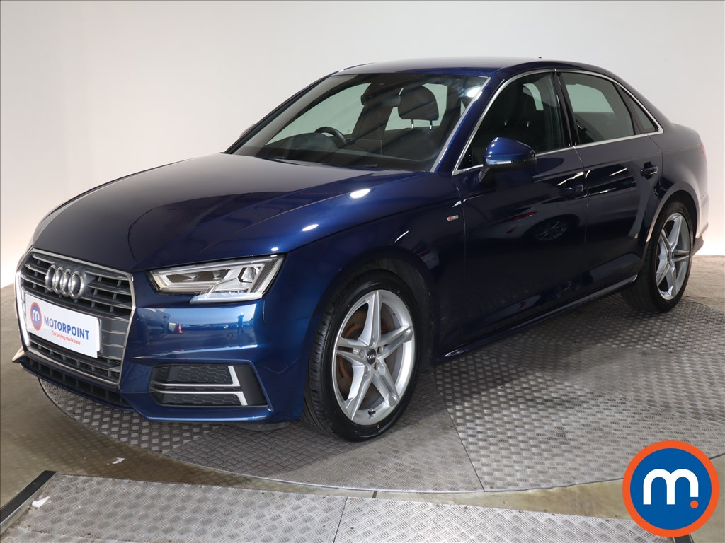 Audi A4 1.4T FSI S Line 4dr [Leather-Alc-Tech Pack] - Stock Number 1135452 Passenger side front corner